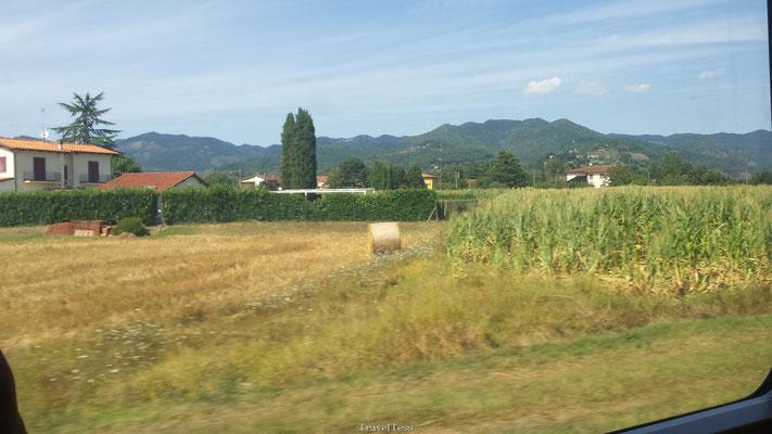 Treinreis Toscane