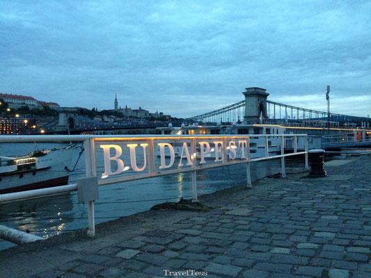Boedapest kade Donau