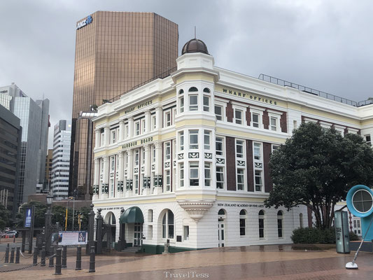 Klassiek wit gebouw in Wellington
