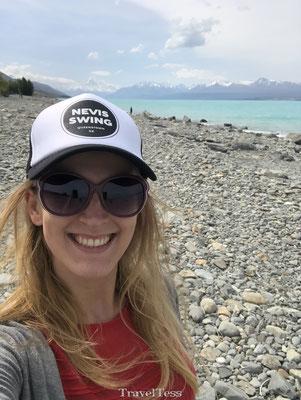 Having fun in New Zealand