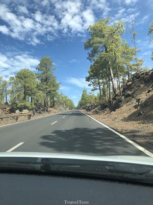 Auto gehuurd op Tenerife
