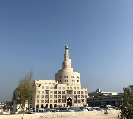 Bijzondere moskee in Doha