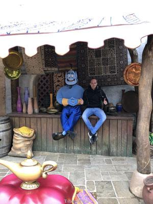 Disney figuren ontmoeten