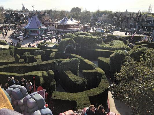 Alice's Curious Labyrinth Disneyland Parijs