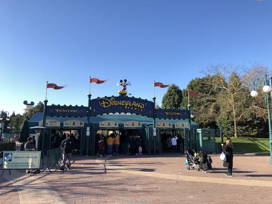 Ingang Walt Disney Studio's