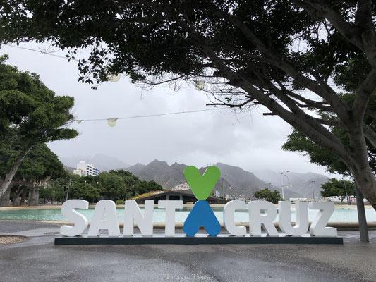 Santa Cruz sign