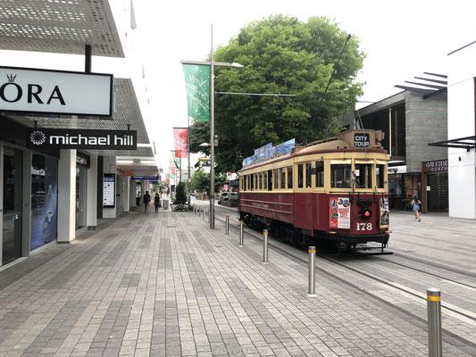 Kenmerkende tram van Christchurch