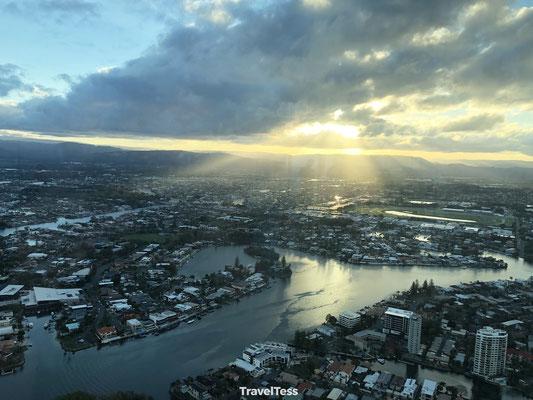 Zonsondergang Gold Coast
