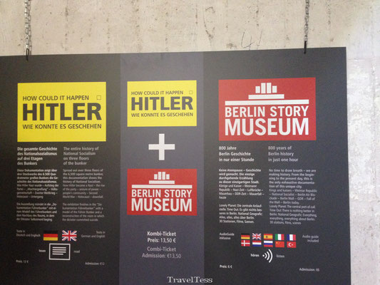 Berliner Story Bunker tentoonstelling