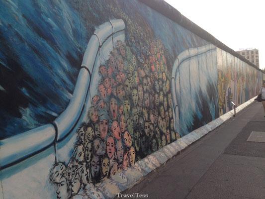 Mooiste deel Berlijnse Muur