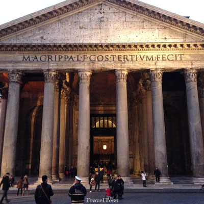 Pantheon van buitenkant