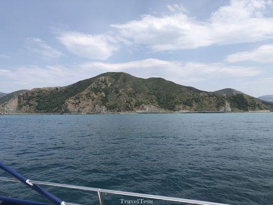 Groene kust van Kaikoura