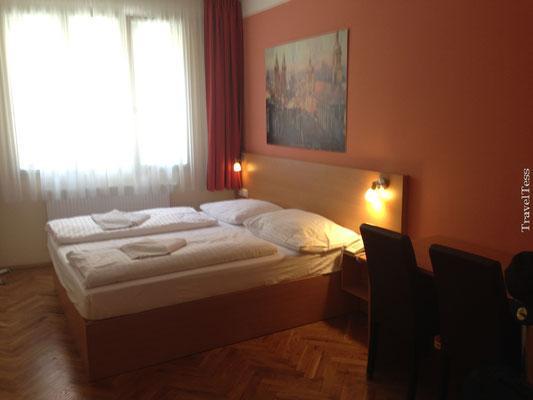 Hotelkamer Residence Bene Praag