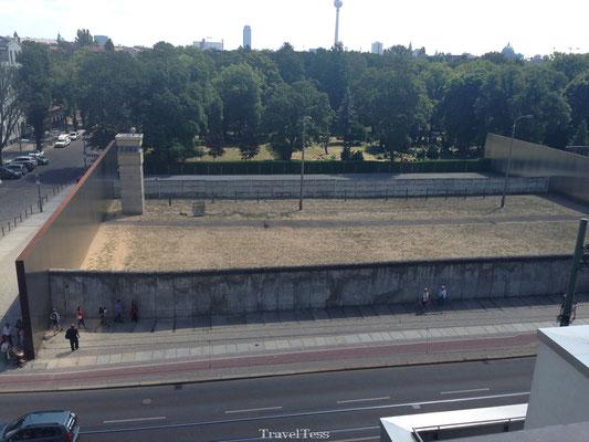 Gedenkstätte Berliner Mauer grenstoren