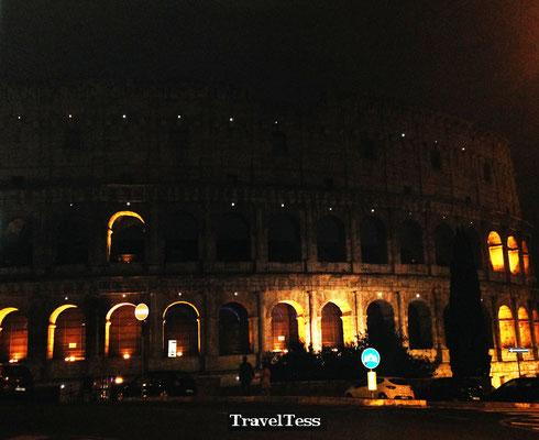 Rome Colosseum in de avond