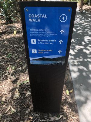 Lengte Coastal Walk Noosa