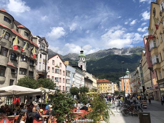 Centraal plein in Innsbruck