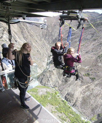 Queenstown Nevis Swing