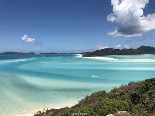 Hill Inlet Lookout Whitehaven Beach