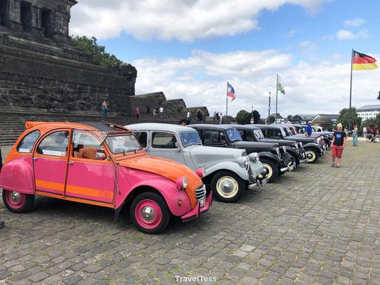 Classics Cars bijeenkomst Koblenz