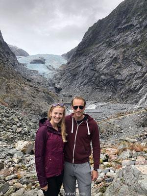 Hike naar de gletsjer van Franz Josef
