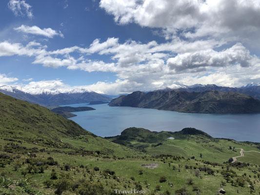 Geweldig uitzicht vanaf Roys Peak