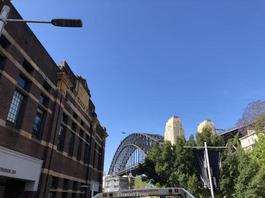 The Rocks wijk in Sydney