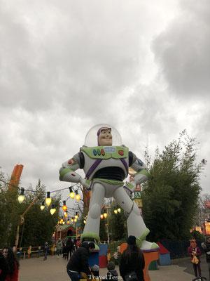 Buzz Lightyear in Disney Studio's Park