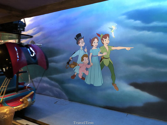 Peter Pan attractie Disneyland Parijs