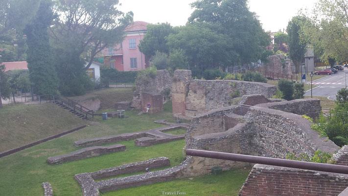Rimini oude ruïnes