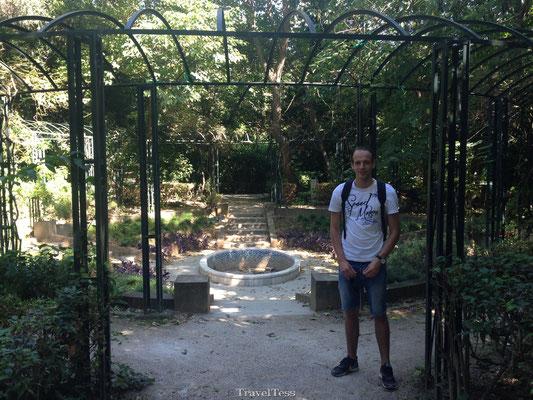 Parkje in Athene