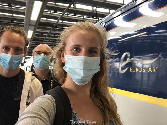 Met de Eurostar naar Londen