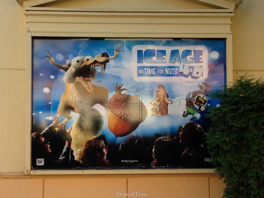 Ice Age show in Moviepark Germany