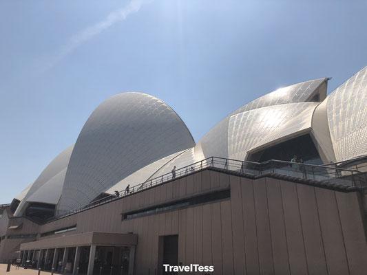 Achterkant Sydney Opera House