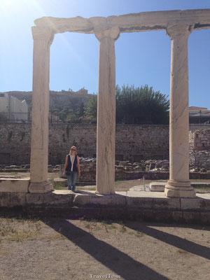 Ruïnes in Athene