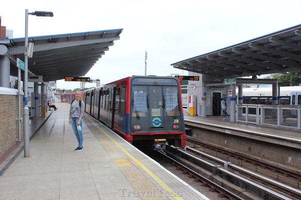 DLR station Greenwich