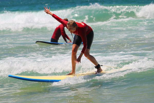 Surfen in Surfers Paradise