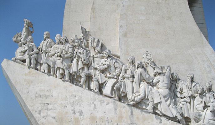 Monument voor de ontdekkingsreizigers Lissabon