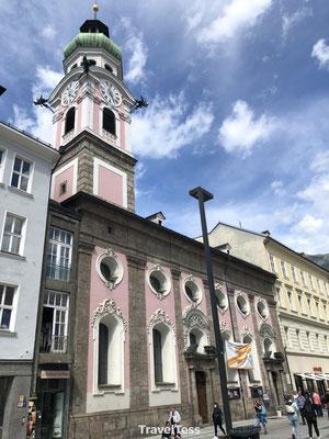 Kerk Maria-Theresien-Strasse