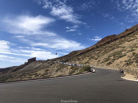 Kabelbaan naar El Teide