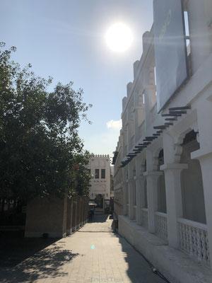 Steegje in Qatar