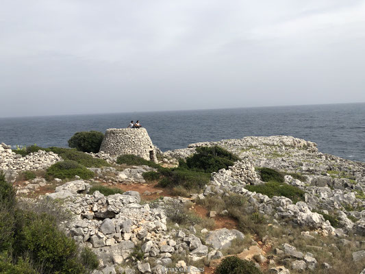 Rotsige kust Puglia