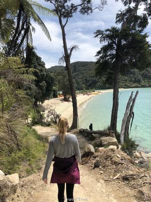 Hike naar Onetahuti Bay