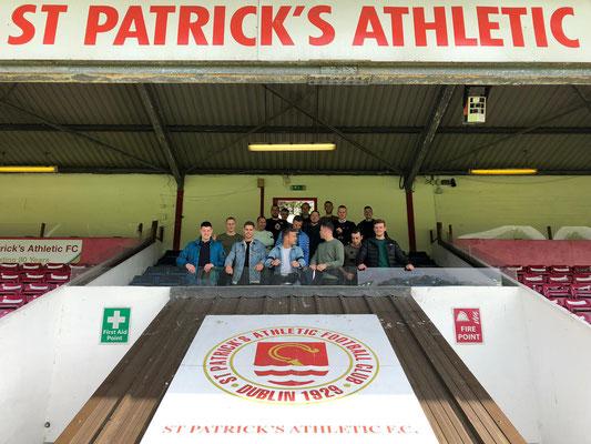 Voetbalwedstrijd Ierland bezoeken