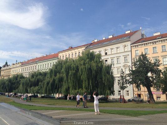 Straatbeeld Praag