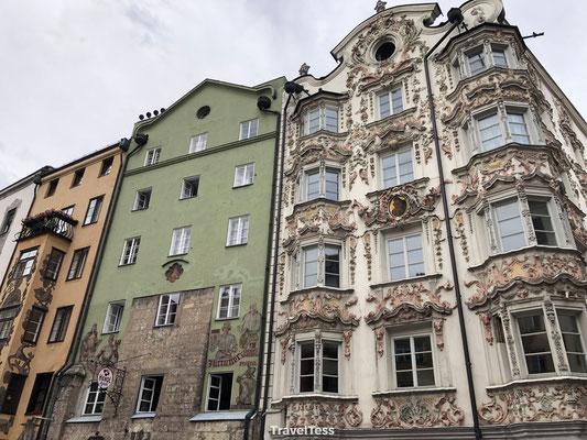 Versierde gevel Innsbruck