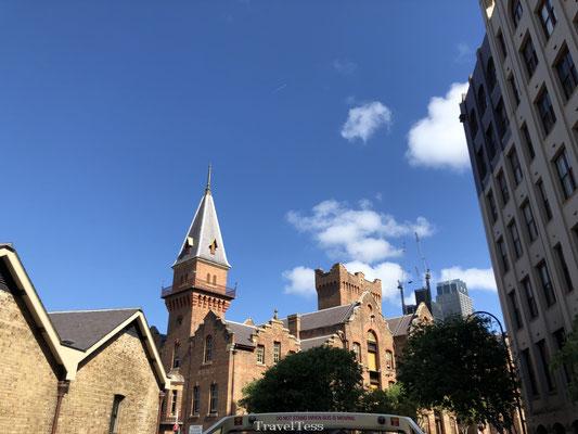 Rocks wijk in Sydney