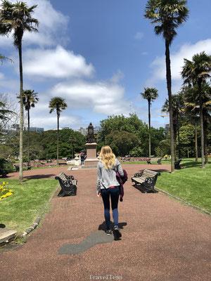 Parkje in Auckland