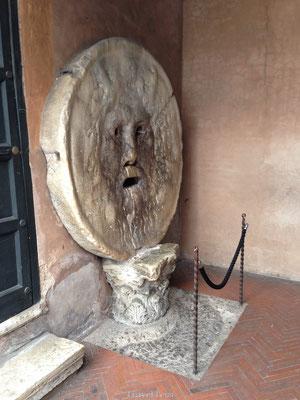 Mond der Waarheid in Rome