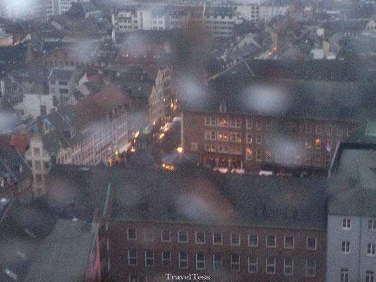 Reuzerad in Düsseldorf